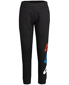 Little Boys Multi-Color Fleece Jogger Pants