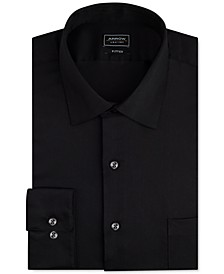 Men's Classic-Fit Stretch Performance Dress Shirt