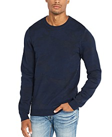 Men's Camo Jacquard Sweater