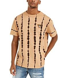 Men's Oversized Bleached Wash T-Shirt
