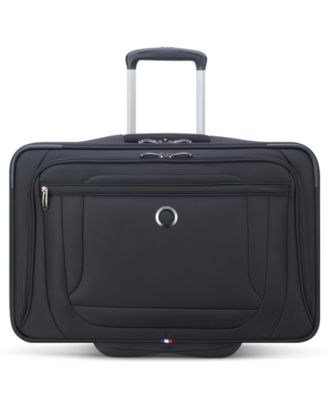Helium DLX Softside 2-Wheel Carry-On Garment Bag, Created for Macy's