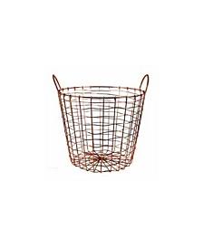 Wire Storage Basket and Waste Bin
