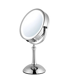 "7"" Lighted Makeup Mirror with Cool Led Lighting"