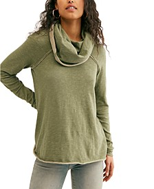 Cocoon Cowl Pullover Sweater