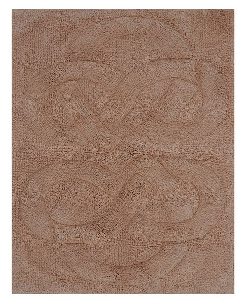 "Perthshire Platinum Collection Tuft Twisted 17"" x 24"" Bath Rug"