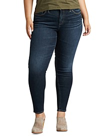 Trendy Plus Size Avery Curvy-Fit Skinny Jeans