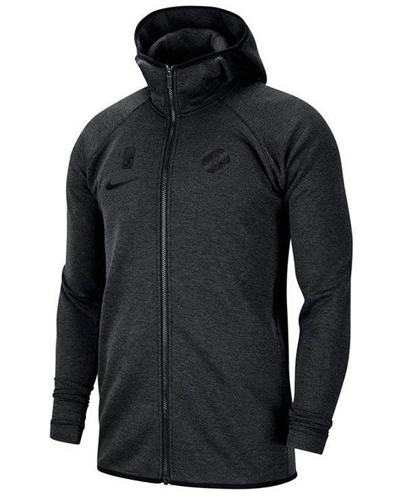Nike Men's Brooklyn Nets Showtime Dry Full-Zip Hoodie