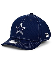 Little Boys Dallas Cowboys On-Field Sideline Road 39THIRTY Stretch Fitted Cap