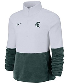 Women's Michigan State Spartans Therma Long Sleeve Quarter-Zip Pullover