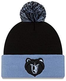 Memphis Grizzlies Black Pop Knit Hat