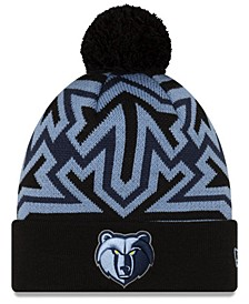 Memphis Grizzlies Big Flake Pom Knit Hat