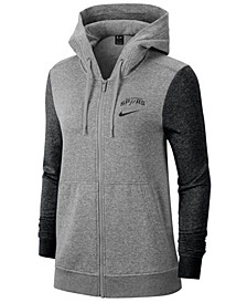 Women's San Antonio Spurs Full-Zip Club Fleece Jacket