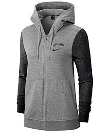 Women's San Antonio Spurs Full-Zip Club Fleece Jacket