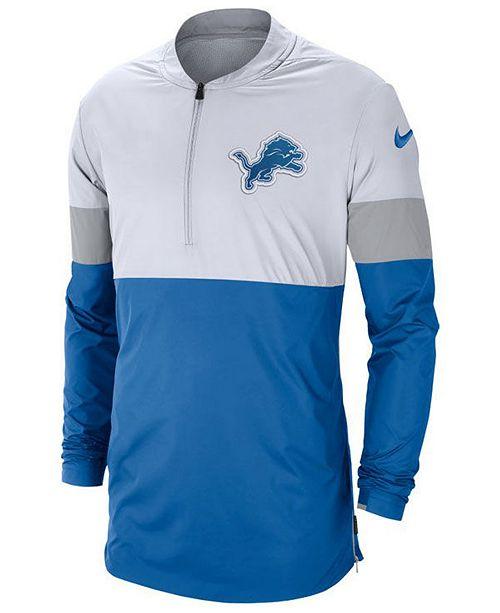 Nike Men's Detroit Lions Lightweight Coaches Jacket