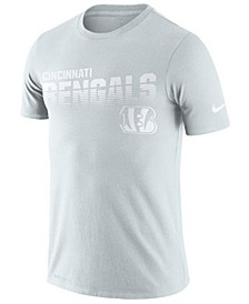 Men's Cincinnati Bengals 100th Anniversary Sideline Legend Line of Scrimmage T-Shirt