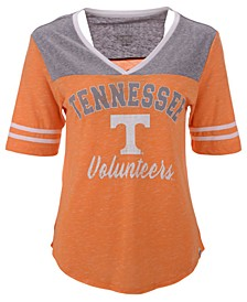 Women's Tennessee Volunteers Mr Big V-neck T-Shirt