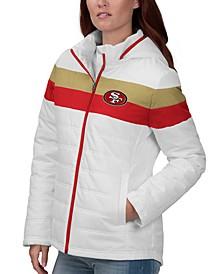 Women's San Francisco 49ers Tie Breaker Polyfill Jacket