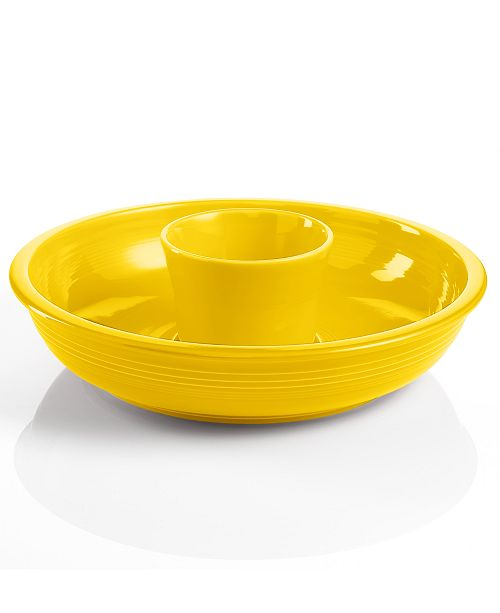 Fiesta Sunflower Chip and Dip Set