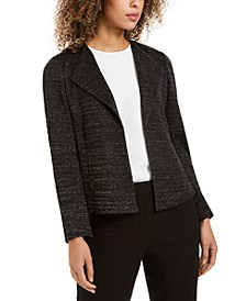 Metallic Knit Jacket