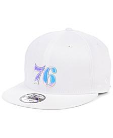 Philadelphia 76ers Iridescent Set 9FIFTY Snapback Cap