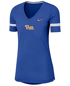 Women's Pittsburgh Panthers Fan V-Neck T-Shirt