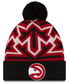 Atlanta Hawks Big Flake Pom Knit Hat