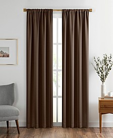 "Vanderbilt Extra Wide Blackout Window Curtain, 52""x84"""
