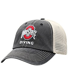 Ohio State Buckeyes Diving Sport Drop Mesh Snapback Cap