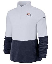 Women's Denver Broncos Half-Zip Therma Fleece Pullover