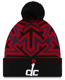 Washington Wizards Big Flake Pom Knit Hat