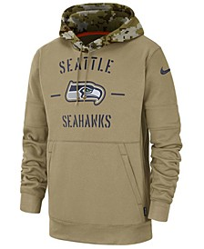 Men's Seattle Seahawks Salute To Service Therma Hoodie
