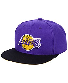 Los Angeles Lakers 2 Tone Classic Snapback Cap