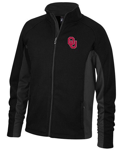 Lids Spyder Men's Oklahoma Sooners Constant Full-Zip Sweater Jacket