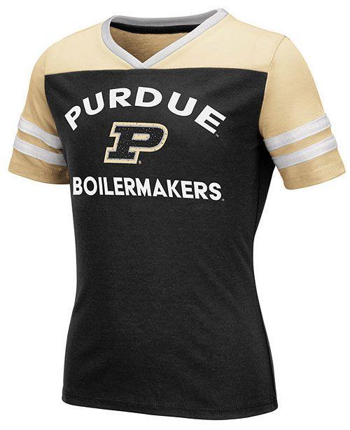 Colosseum Big Girls Purdue Boilermakers Faboo T-Shirt