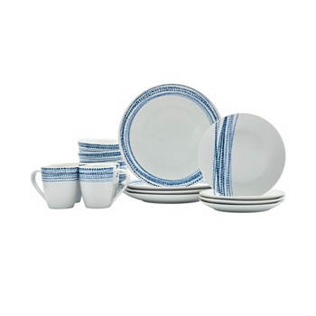 Tabletop Unlimited Aaron 16-Pieces Dinnerware Set