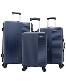 Basette 3-Pc. Hardside Luggage Set, Created for Macy's