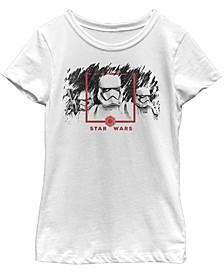 Big Girls Episode 9 Stormtrooper Sketch Short Sleeve T-Shirt