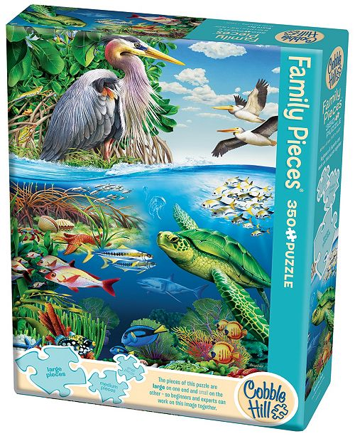 Cobble Hill Puzzle Company Family Pieces Jigsaw Puzzle - Earth Day - 350 Piece