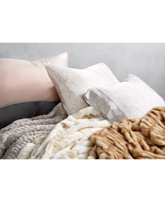 CLOSEOUT! Honeycomb Silk King Pillowcase, Created for Macy's