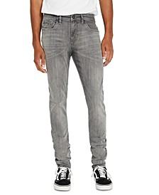 Men's Super MAX-X Light Gray Skinny Jeans