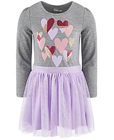 Little Girls Hearts Tutu Dress, Created For Macy's
