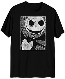 Jack Skellington Sketch Men's Graphic T-Shirt