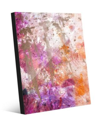 "Scarred Memories Abstract 20"" x 24"" Acrylic Wall Art Print"