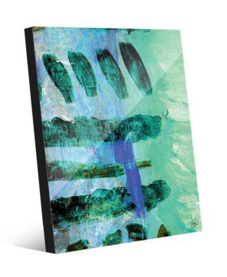 Kouara in Green Abstract 16