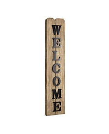 American Art Decor Rustic Wood Welcome Sign