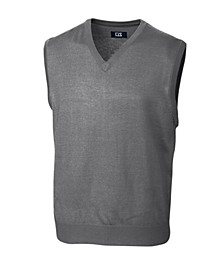 Cutter and Buck Men's Big and Tall Douglas V-Neck Vest