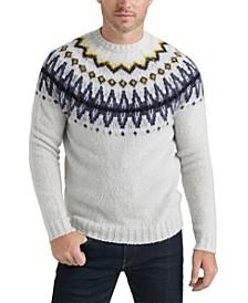 Men's Brushed Fair Isle Sweater