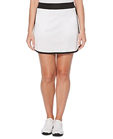 Colorblocked Golf Skort