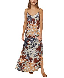 Juniors' Brayden Printed Maxi Tank Dress