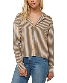Juniors' Makara Striped Shirt
